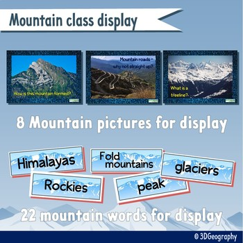 All about Mountains - A teaching bundle of resources