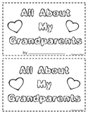 All about My Grandparents---A Book for Grandparent's Day