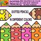 All about Pencils - Save Bundle Clipart Set (70 Pics)