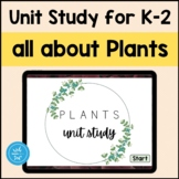 All about Plants Homeschool Unit Digital BOOM lesson Life