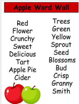 All about Pumpkins and Apples.... 13 pages