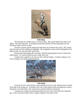All about Rodeos