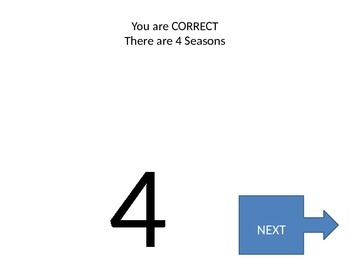 All about Seasons Powerpoint Quiz
