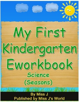 All about Seasons Workbook for Kindergarten