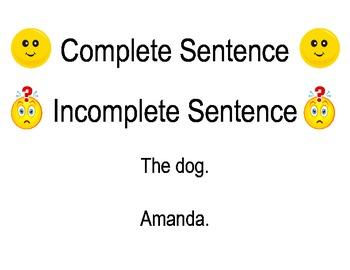 All about Sentences Unit