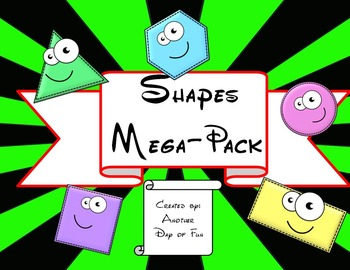 All about Shapes Mega-Pack