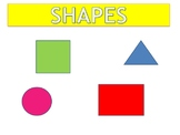 All about Shapes - Shapes I use - song and video based on