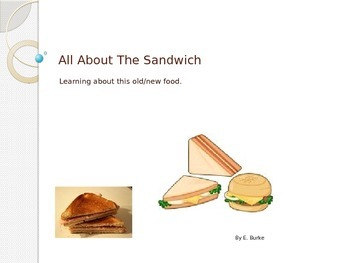 All about The Sandwich