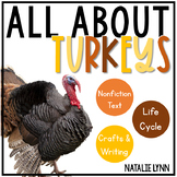 All About Turkeys: Nonfiction Turkeys Unit and the Turkey Life Cycle