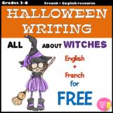 All about WITCHES (Tout sur les sorcières) FREE Halloween