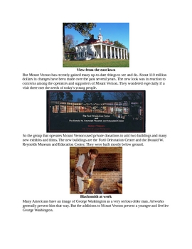 All about Washington's Mount Vernon for Kids