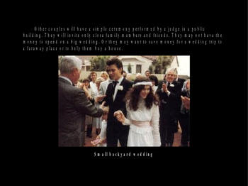 All about Weddings Powerpoint