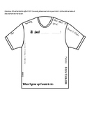 All about You T-shirt worksheet