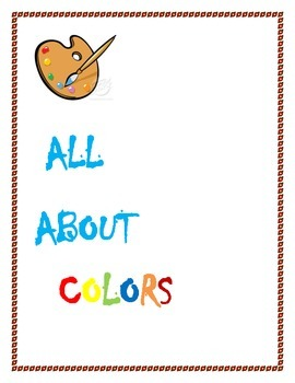 """""""All about colors"""""""