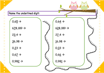 All about decimal numbers