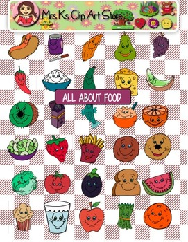 All about food clip art