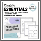 School Counselor Essentials - All about me workbook to get