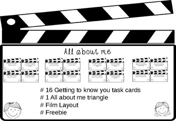 All about me - Film based - Freebie