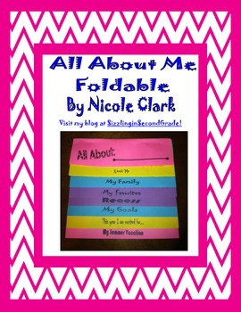 All about me Foldable