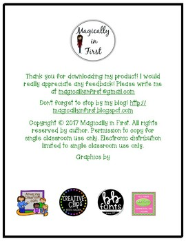 All about me - Fourth Grade {Free}