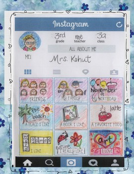 All about me Instagram page