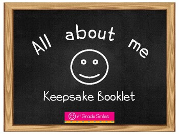 All about me- Keepsake Booklet