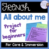 French All about me Power Point project