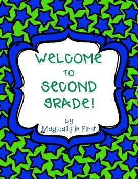 All about me - Second Grade {Free}