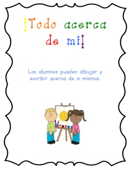 All about me- Spanish