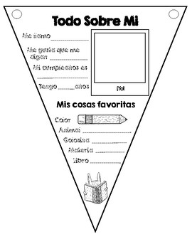 All about me (Todo sobre mi) Back to School