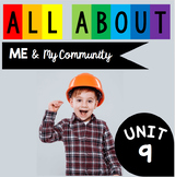 All about me and my community - community helpers - when I grow up activities