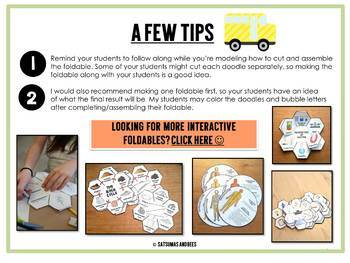 All about me foldables {FREEBIE}- Math and Science
