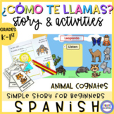 All about me in Spanish - ¿Cómo te llamas?