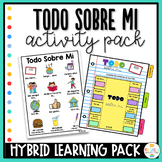 All about me in Spanish - Todo Sobre Mi - Hybrid Learning