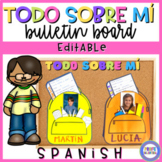All about me in Spanish - Todo sobre mí
