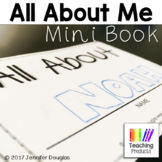 All About Me Mini Books Perfect for Back to School