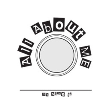 All about me printable Booklet