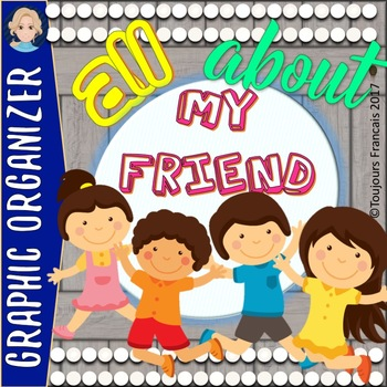 All about my friend (back to school activity)