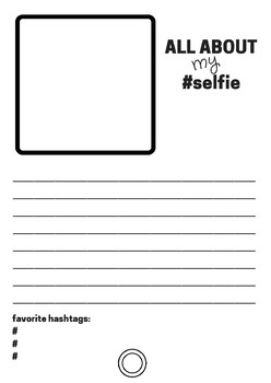 All about my #selfie