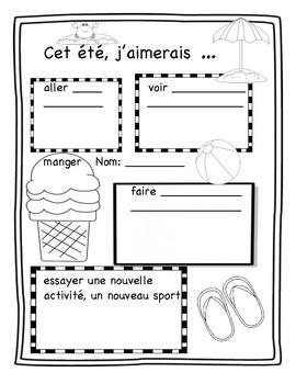 All about my summer - Mon été - Posters