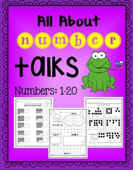 Number Talks: All about numbers 1-20