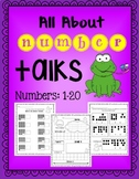 Number Talks: All about numbers 1-20 (Common Core Aligned)
