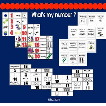 All about numbers to 20! Engaging activities for small group or whole group