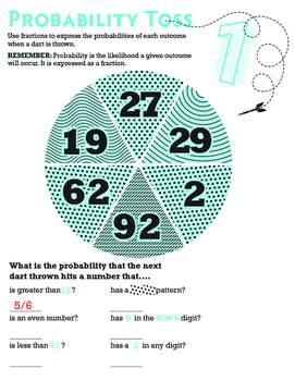 All about of mean, median, mode, middle, probability and probability toss
