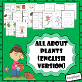 All about plants! (Spanish version available in my store as well!)