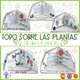 All about plants. Las plantas. Les plantes. Español/ Engli