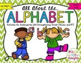 All about the Alphabet {NO PREP Printables}