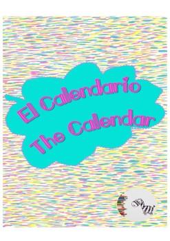 All about the Calendar (math) / Aprendemos todo sobre el calendario Bilingual