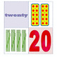 Number Posters  1-20: tally marks, ten frames, number word