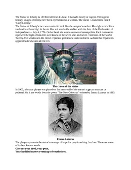 All about the Statue of Liberty